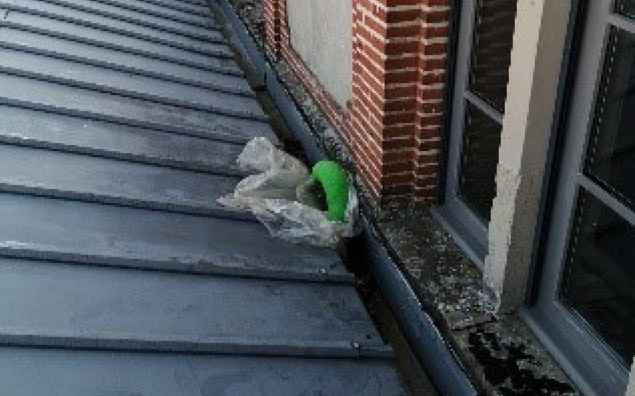 Réalisation d'une descente d'eau pluviale à la mairie de Lavaur - 5