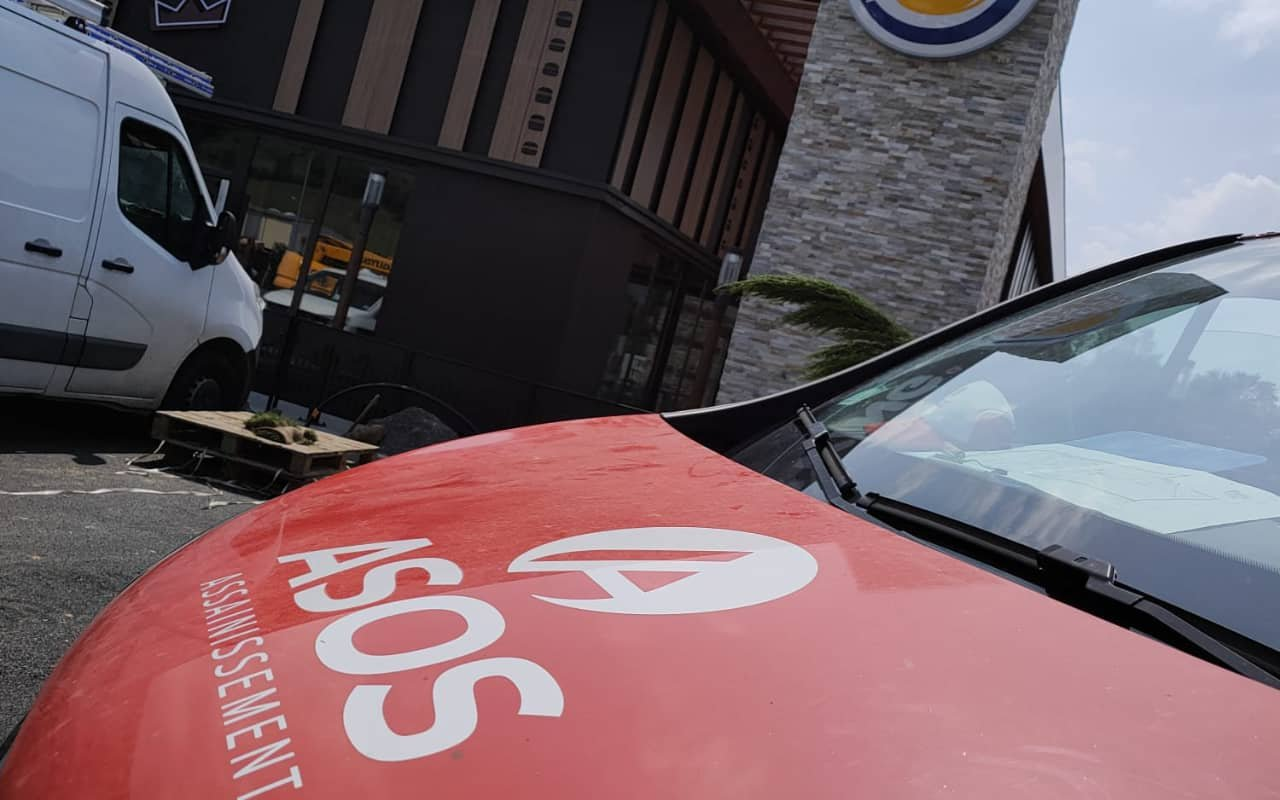 Inspection vidéo par caméra des canalisation du Burger King d'Aurillac - 2