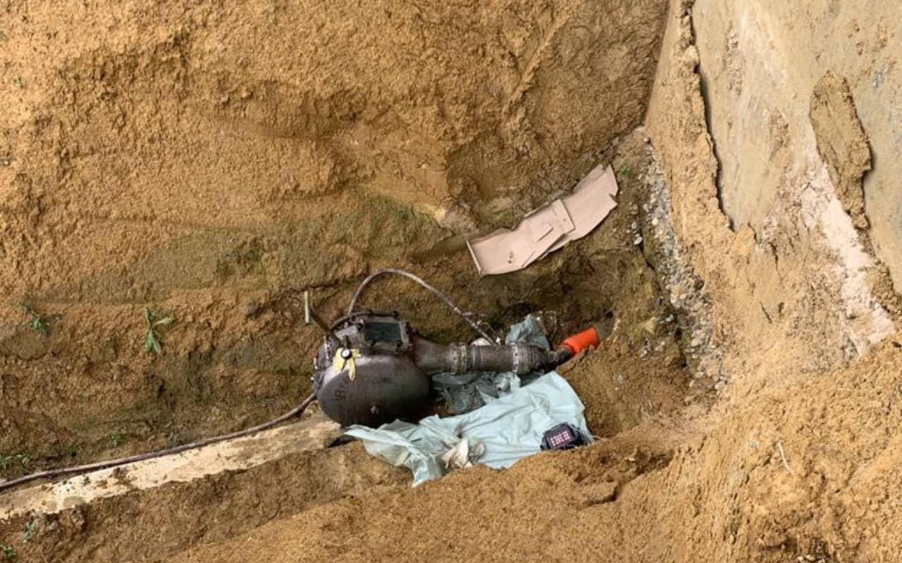 Réhabilitation d'une canalisation enterrée au château Laffite Teston - 3
