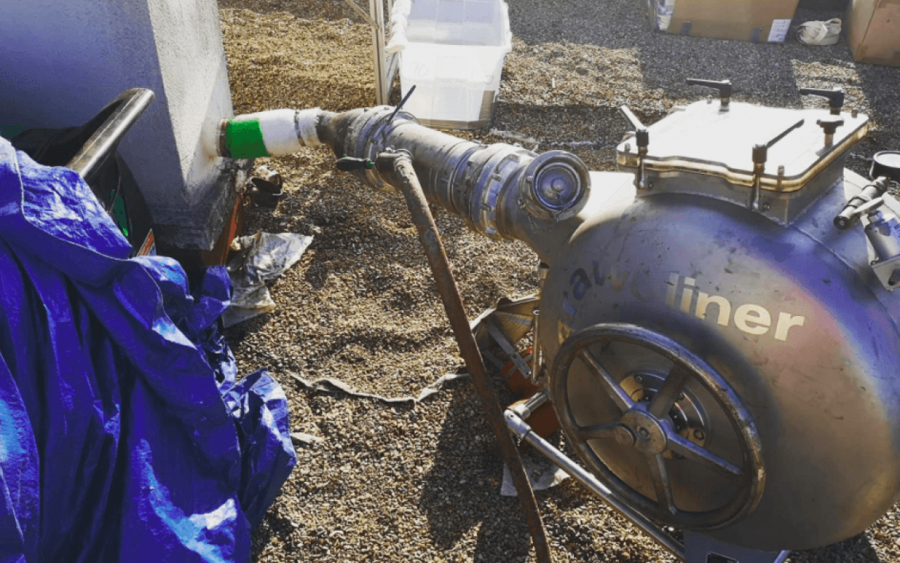 Chemisage canalisation - 1