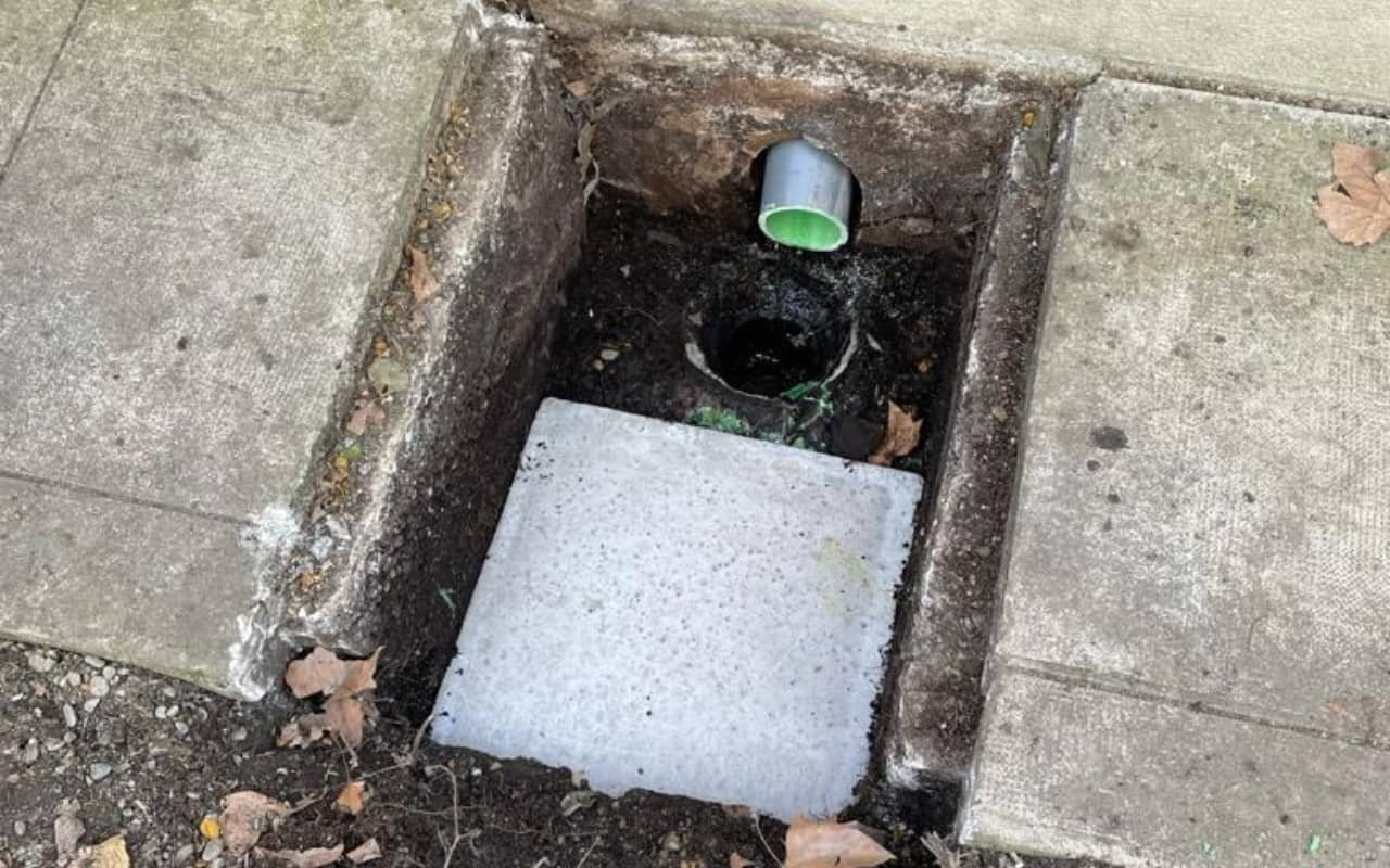 Réhabilitation canalisation eaux vannes sur 12 ml - 1