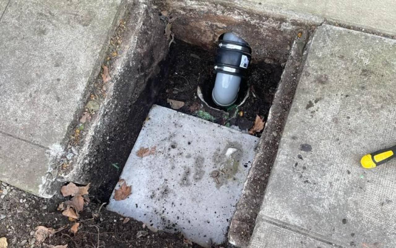 Réhabilitation canalisation eaux vannes sur 12 ml - 4