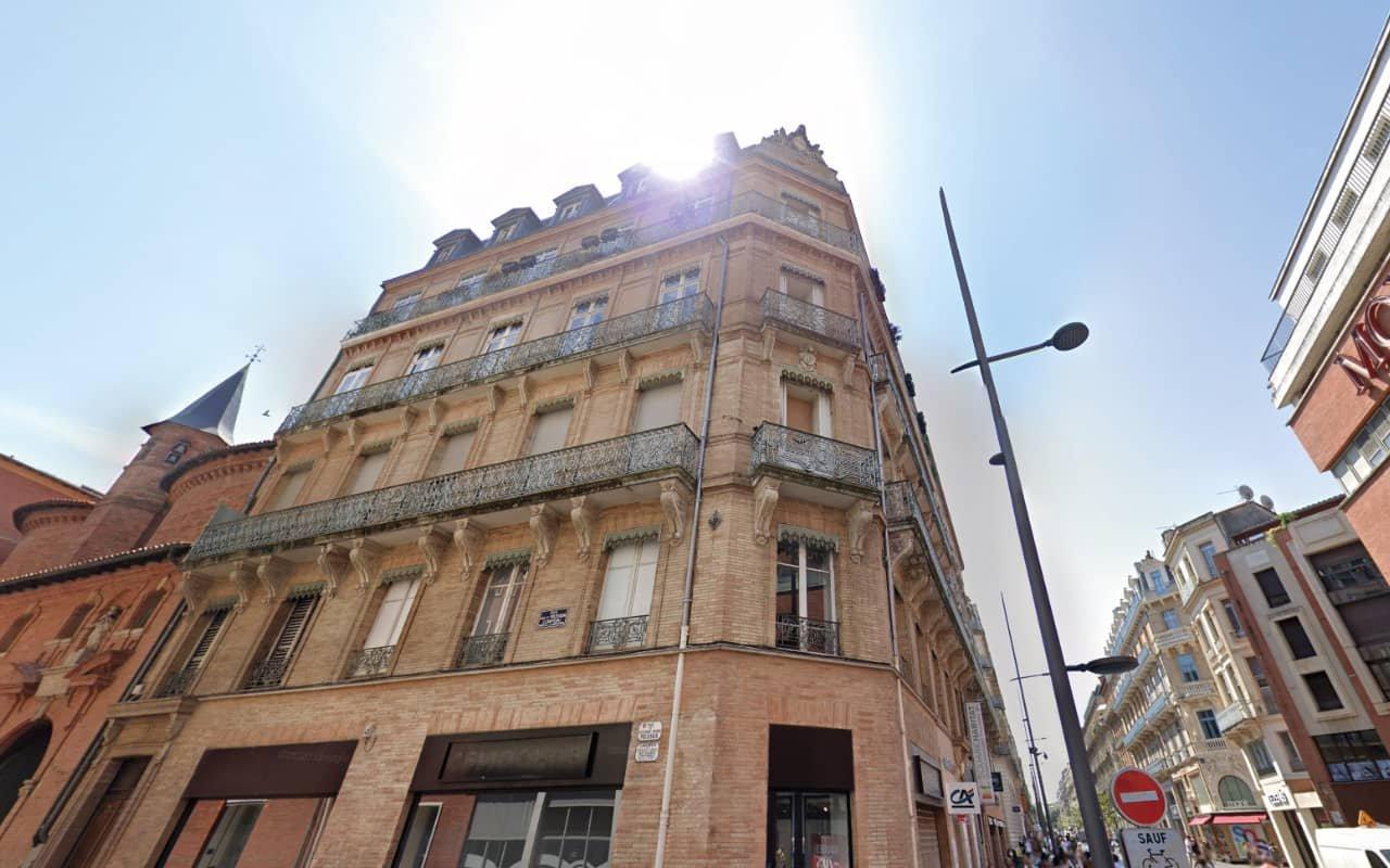 Réhabilitation d'une colonne WC d'un immeuble classé à Toulouse